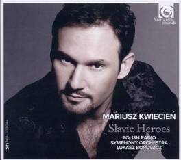 SLAVIC HEROES LUKASZ BOROWICZ//WORKS BY SMETANA/RACHMANINOV/TCHAIKOVS POLISH RADIO SYMPHONY ORC, CD