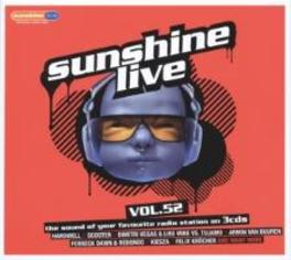 SUNSHINE LIVE 52 V/A, CD
