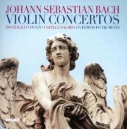 VIOLIN CONCERTOS KALLO/CAPELLA SAVARIA J.S. BACH, CD