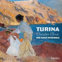 PIANO QUARTET IN A MINOR NASH ENSEMBLE J. TURINA, CD