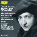 PIANOCONCERT NO.13 AND 2 -FRICSAY/BAUMGARTNER/CLARA HASKIL