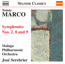 SYMPHONIES NO.2,8 & 9 MALAGA P.O./JOSE SEREBRIER T. MARCO, CD
