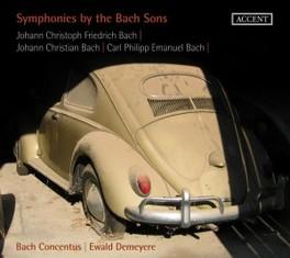 SYMPHONIES BY THE BACH.. .. SONS // & C.P.E. BACH J.C.F./J.S. BACH BACH, CD