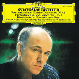 PIANO CONC.NO.2/P.C.NO.5 RICHTER Audio CD, RACHMANINOV/PROKOFIEV, CD