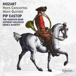 HORN CONCERTOS & QUINTET HANOVER BAND/EROIC QUARTET/ANTHONY HALSTEAD/PIP EASTOP W.A. MOZART, CD
