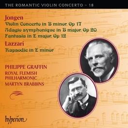 ROMANTIC VIOLIN..VOL.18 ROYAL FLEMISH PHIL./MARTYN BRABBINS/GRAFFIN Lazzari, Sylvio, CD