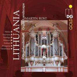 LITHUANIAN ORGAN LANDSCAP Audio CD, MARTIN ROST, CD