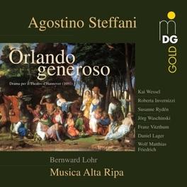 ORLANDO GENEROSO WESSEL/VITZTHUM/INVERNIZZI/MUSICA ALTA RIPA Audio CD, A. STEFFANI, CD