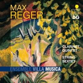 CLARINET QUINTET & STRING ENSEMBLE VILLA MUSICA Audio CD, M. REGER, CD