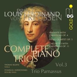 COMPLETE PIANO TRIOS VOL. TRIO PARNASSUS Audio CD, L. FERDINAND, CD