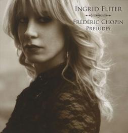 24 PRELUDES INGRID FLITTER F. CHOPIN, Vinyl LP