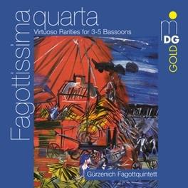 VIRTUOSO RARITIES 3-5 BAS Audio CD, GURZENICH FAGOTTQUINTET, CD