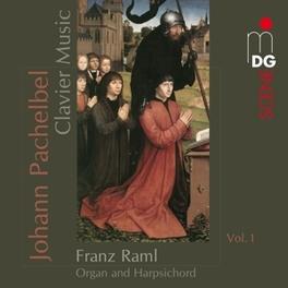 CLAVIER WORKS VOL.1 FRANZ RAML Audio CD, J. PACHELBEL, CD