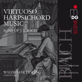WORKS FOR HARPSICHORD DOLING, WALDEMAR Audio CD, W.F. BACH, CD