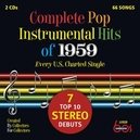 COMPLETE POP INSTR. -4- .. INSTRUMENTAL HITS OF 1959