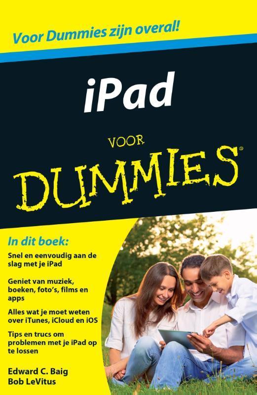 iPad voor Dummies LeVitus, Bob, Paperback