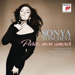 PARIS, MON AMOUR YONCHEVA, SONYA, CD