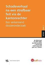 Schadeverhaal na een strafbaar feit via de kantonrechter een verkennend dossieronderzoek, Kool, R.S.B., Paperback