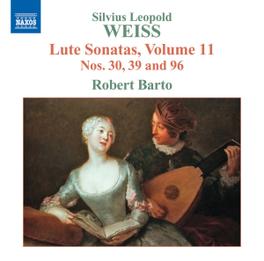 LUTE SONATAS VOL.11 ROBERT BARTO S.L. WEISS, CD