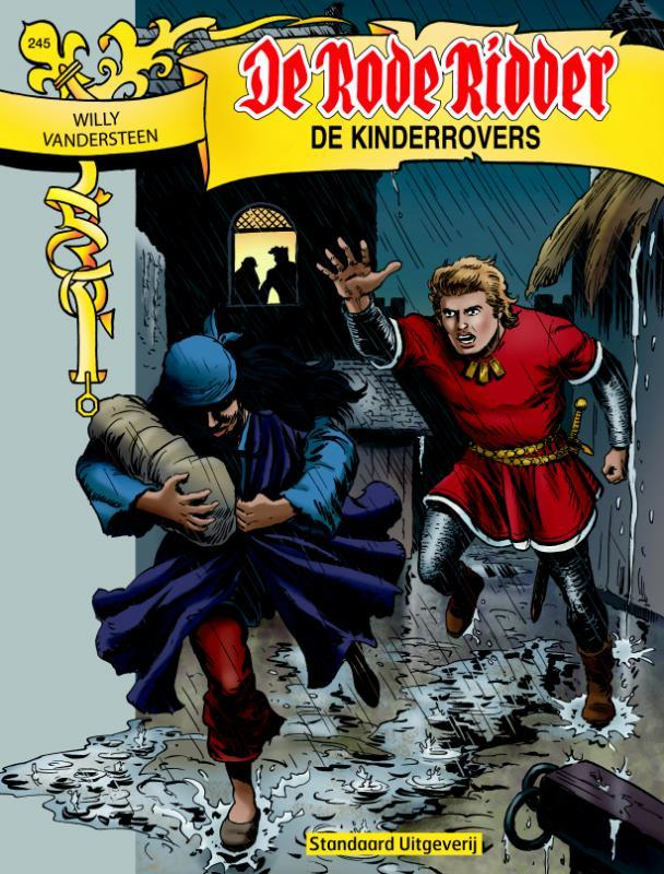 De kinderrovers De Rode Ridder, Willy Vandersteen, Paperback