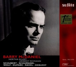 BARRY MCDANIEL & ARTISTS BARRY MCDANIEL, CD