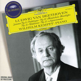 PIANOSONATES 8, 14, 21 -WILHELM KEMPFF Audio CD, L. VAN BEETHOVEN, CD