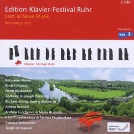 LISZT UND NEUE MUSIK:EDIT LEVIT/MOSER/GILTBURG/MAUSER... LISZT/ARMSTRONG/BRENDEL, CD