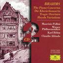 PIANO CONCERTOS 1 & 2 M.POLLINI/WP/ABBADO
