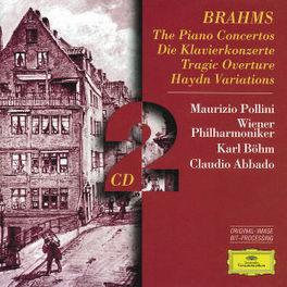 PIANO CONCERTOS 1 & 2 M.POLLINI/WP/ABBADO Audio CD, J. BRAHMS, CD
