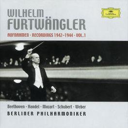 RECORDINGS 1942-1944 V.1 W/BERLINER PHIL./WORKS:BEETHOVEN, HANDEL, MOZART, SCHUB Audio CD, WILHELM FURTWANGLER, CD