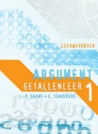 Argument 1 - Getallenleer - leerwerkboek JENNEKENS, EDDY, onb.uitv.