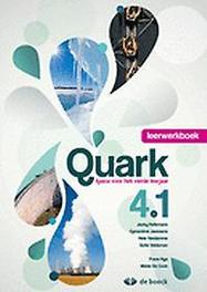 Quark 4.1 - leerwerkboek 1 uur/week, HELLEMANS, JACKY, onb.uitv.