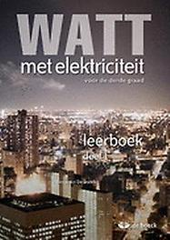 WATT met elektriciteit 5/6 - leerboek (2 delen) De Donder, Benjamin, onb.uitv.