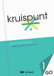Kruispunt 1 - Getallenleer (GO) - leerwerkboek VERDOODT, BRAM, onb.uitv.
