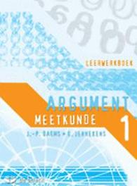 Argument 1 - Meetkunde - leerwerkboek JENNEKENS, EDDY, onb.uitv.