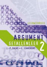Argument 2 - Getallenleer - leerwerkboek JENNEKENS, EDDY, onb.uitv.