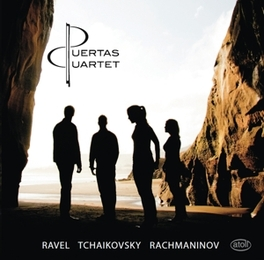 WORKS FOR STRING QUARTET PUERTAS QUARTET RAVEL/TCHAIKOVSKY/RACHMAN, CD