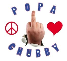 PEACE, LOVE & RESPECT POPA IS BACK AGAIN Audio CD, POPA CHUBBY, CD