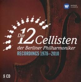 RECORDINGS 1978-2010 DIE 12 CELLISTEN DER BERLINER PHILHARMONIKER, CD
