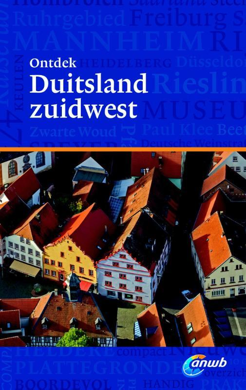 ONTDEK DUITSLAND ZUIDWEST ANWB Lange, Quinten, Paperback