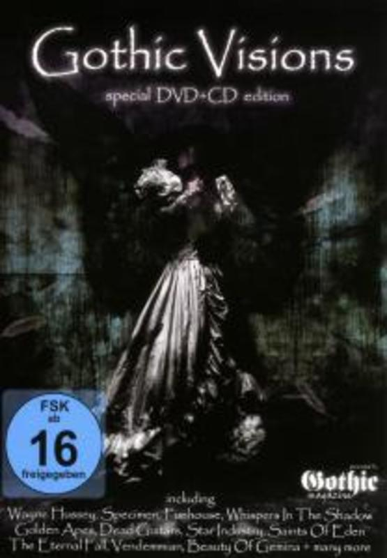 Gothic Visions 1 -Dvd+Cd-