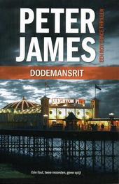 Dodemansrit Peter James, Paperback