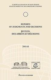 Reports of judgments and decisions recueil des arrets et decisions: 2011-II European court of human rights, Paperback
