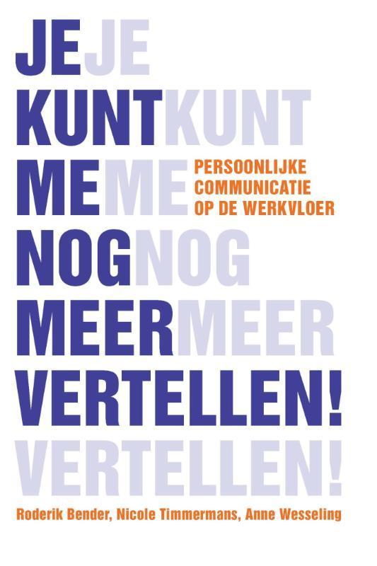 Je kunt me nog meer vertellen Nicole Timmermans, Paperback