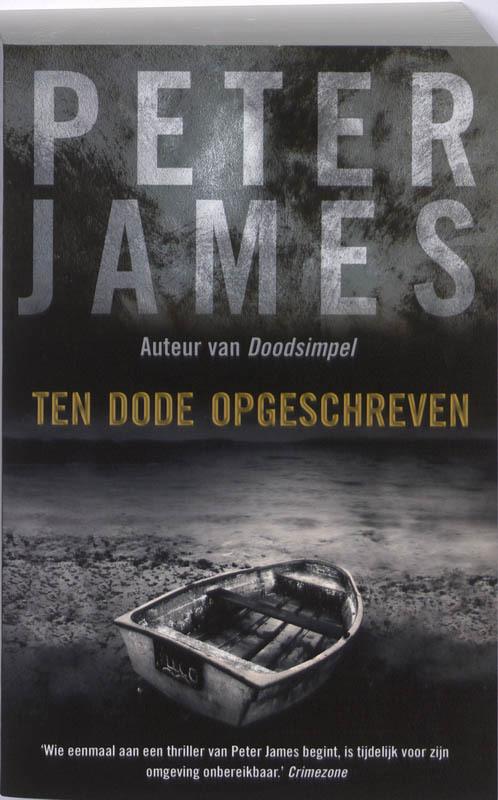Ten dode opgeschreven James, Peter, Paperback