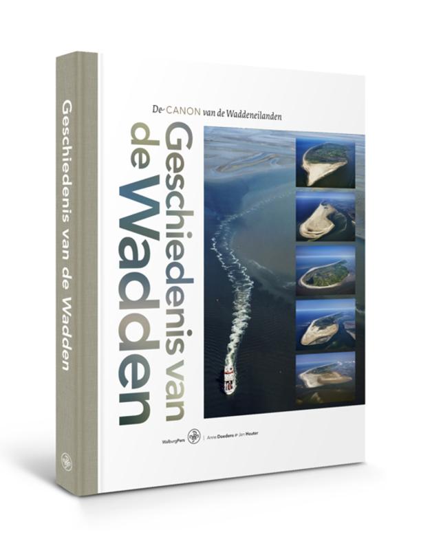 Geschiedenis van de Wadden de canon van de Waddeneilanden, Jan Houter, Hardcover