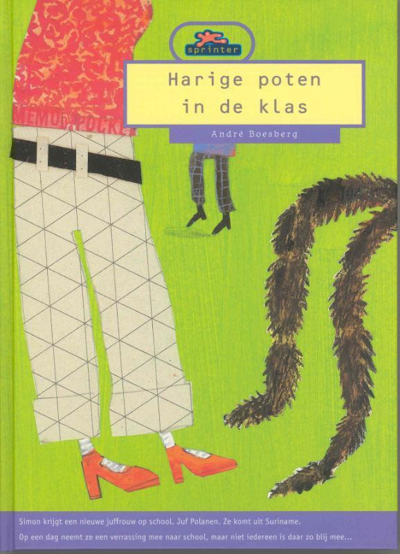 Harige poten in de klas Boesberg, André, Hardcover