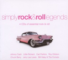 SIMPLY ROCK & ROLL LEGEND V/A, CD