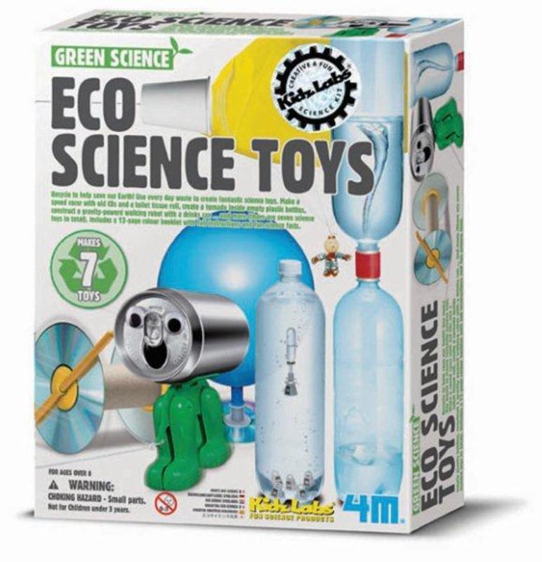 4M Kidzlabs GREEN SCIENCE: SPEELSE ECOLOGISCHE WETENSCHAP