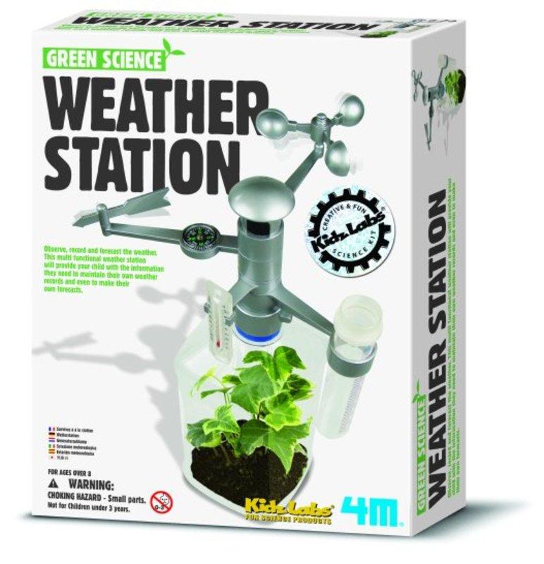 4M Kidzlabs GREEN SCIENCE: WEERSTATION HW